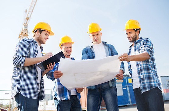 construction-safety-workers-plans