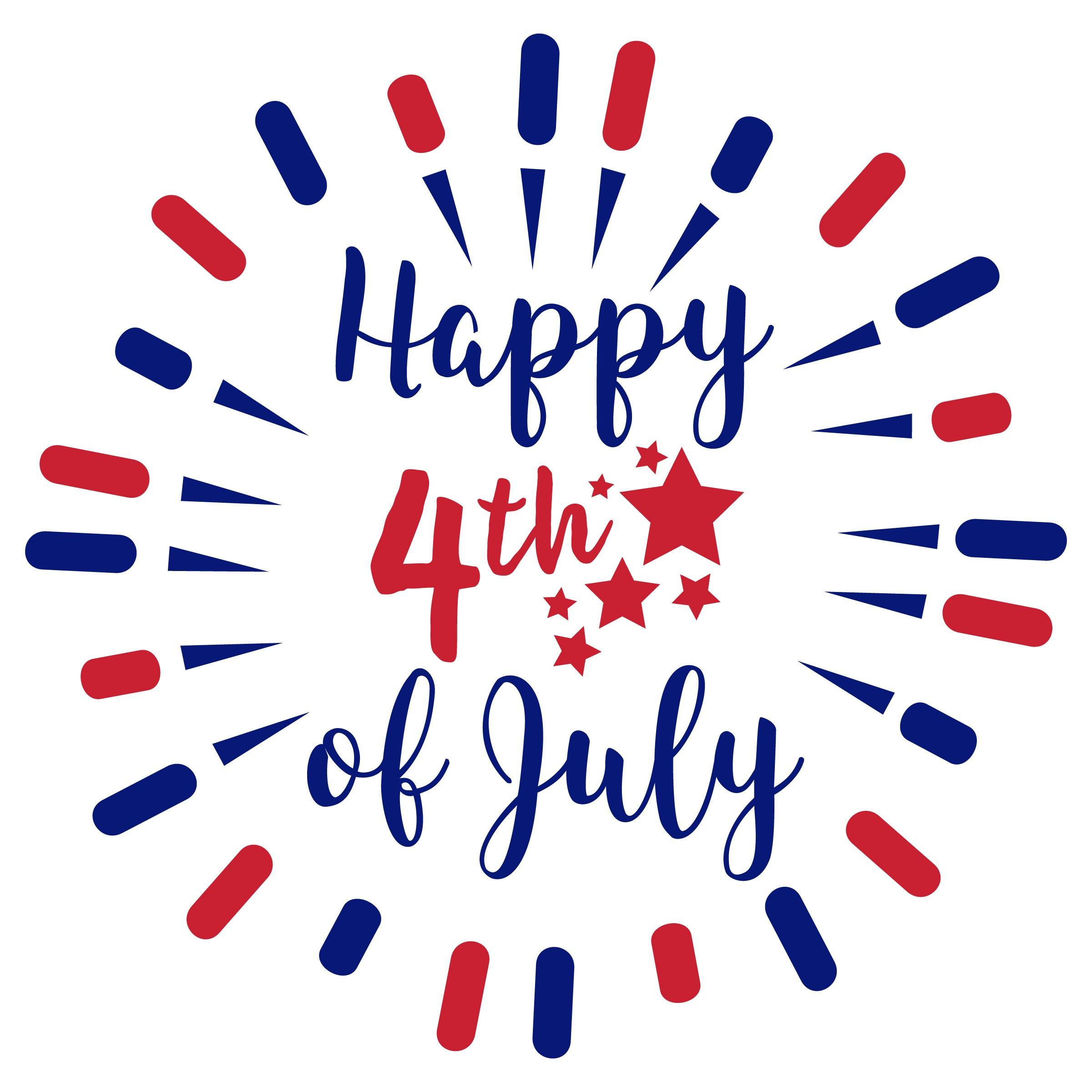 Happy-4th-of-July-Clipart - Camejo Safety
